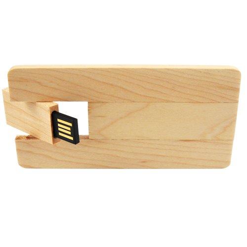 chiavetta USB legno cardwood esempio