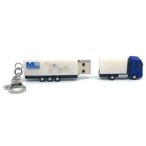 chiavetta USB 3D camion esempio
